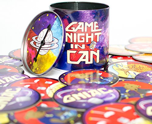 Game Night In A Can! The Play-at-Home Game Show with 30 Creative Party Games, Skill Games, and Funny Games for all Ages and Occasions!