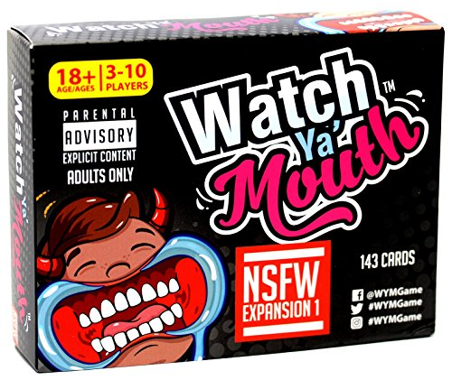 Watch Ya' Mouth Adult Phrase Card Game Expansion Pack 1