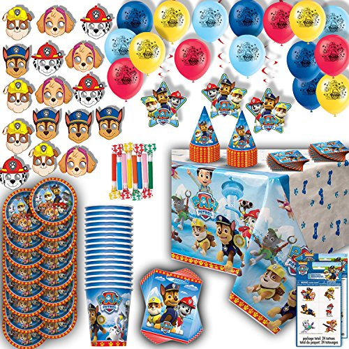 Paw Patrol Party For 16