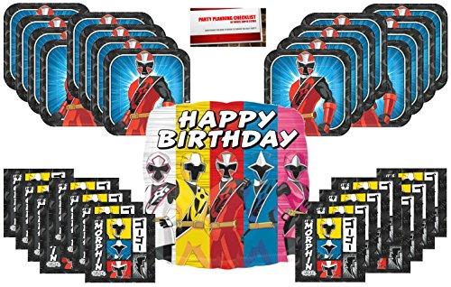 Each Power Ranger Ninja Steel 42 Shaped Balloon