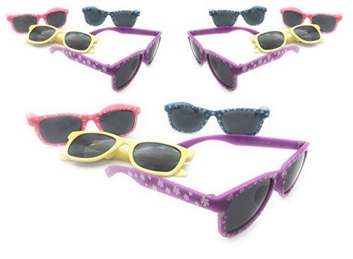 6270b6e213 Kids Hibiscus Sunglasses pack of 12 by Oojami